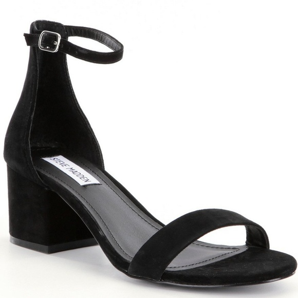 d9c50877fbc Irenee Ankle Strap Suede Block Heel Dress Sandals.  M 5aa5e3311dffdaaf94e738ec